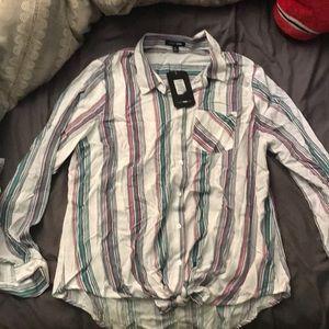 button down blouse,